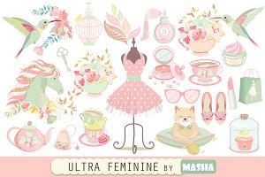 ULTRA FEMININE clipart