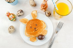 Cute and funny Easter breakfast