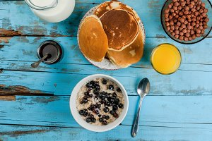 Everything you need for breakfast
