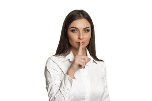 """""""Keep silence"""""""