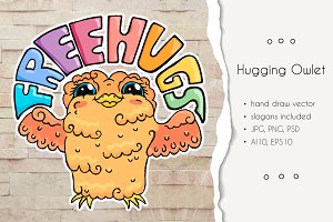 Hugging Owlet