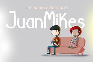 JuanMikes - Comic Font
