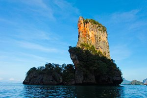 Landscape of small rock