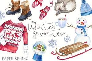 Winter Fashion Graphic Pack