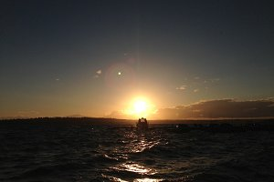 Waves on Lake Washington, Seattle