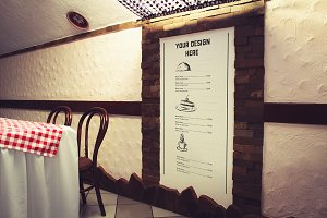 Menu on the Wall#2