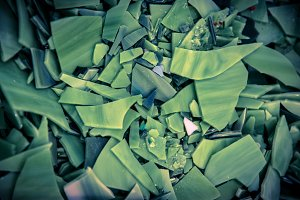 Mosaic Tile Texture: Green