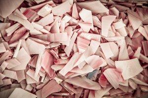 Mosaic Tile Texture: Pink