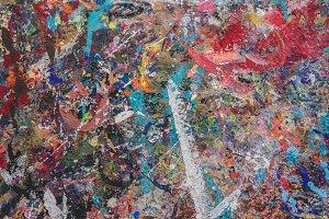 Abstract Paint Splatter 3