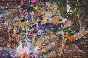 Abstract Paint Splatter 1