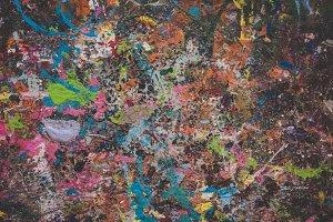 Abstract Paint Splatter 4