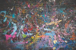 Abstract Paint Splatter 7