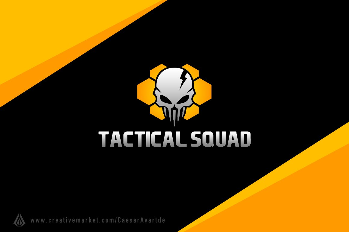 tactical squad logo template logo templates creative market