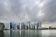 Singapore stormy