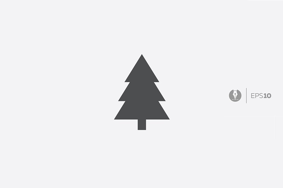 Christmas Tree Icons.Christmas Tree Vector Icon