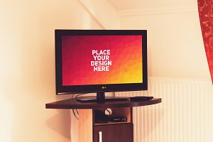 Television Display Mock-up#3