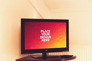 Television Display Mock-up#4