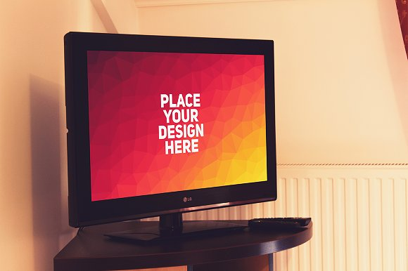Television Display Mock-up#5