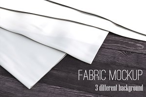 Realistic Fabric Set Mock Up