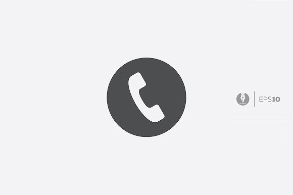 Abstract Phone Icon