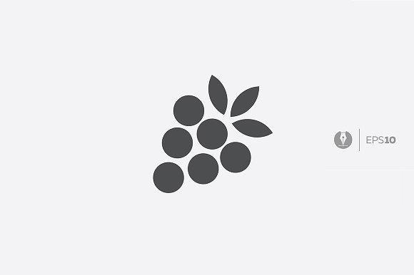 Abstract Grape Icon