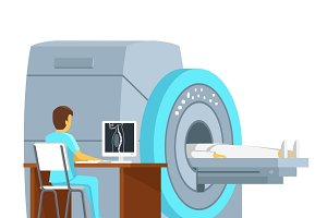 MRI scan and diagnostics