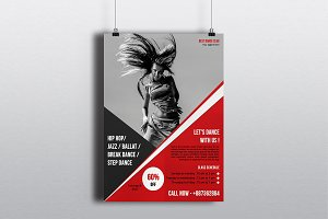 Dance Studio Flyer Template-V469