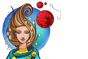 Fantastic girl. Zodiac signs