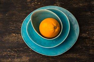 Ripe organic citrus fruits