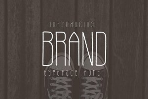 Brand Typeface Font