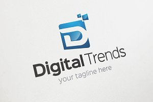 Digital Trends - D Logo