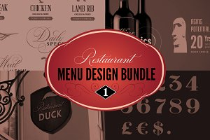 Restaurant Menu Bundle 15% off