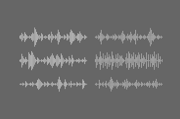 Equalizer Sound Waves Collection