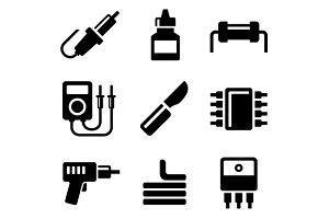 Solder Icons Set
