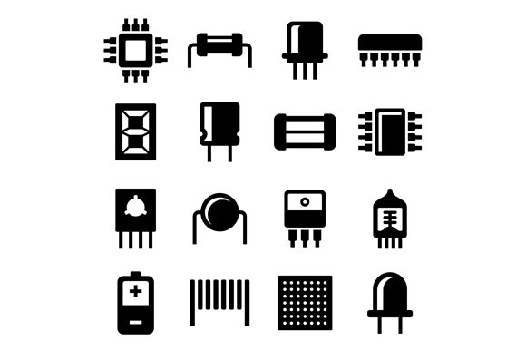 Electronic Components and Microchip
