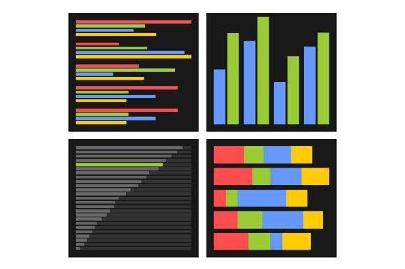 Benchmark Bars And Indicators Set
