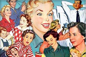 Retro Happy Housewives #4
