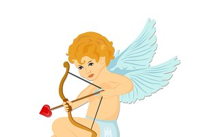 cupid. Valentine's day. vector