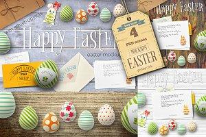 Easter Cards Mockup