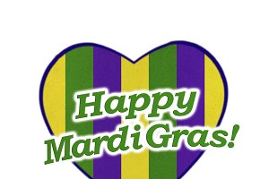 Happy Mardi Gras Icon