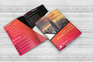 Construction Bi Fold Brochure