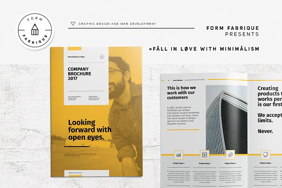Company Brochure Brochure Templates Creative Market - Company brochure templates