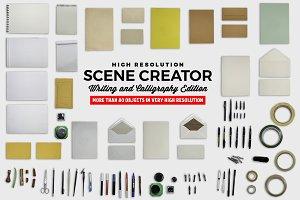 Scene Creator Writing / Calligraphy