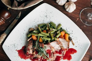 savory meat