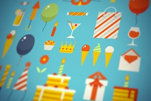 Happy Birthday Celebration Set