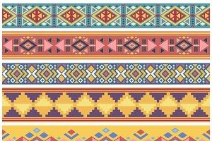 Geometric native seamless borders