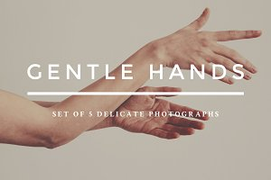 Gentle hands photo bundle
