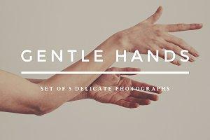 Gentle hands photo bundle