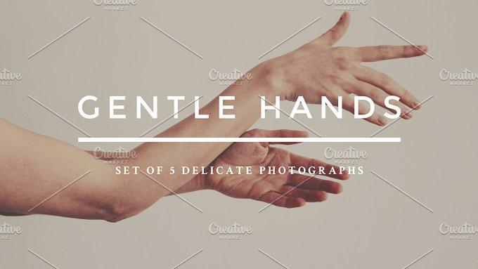 Gentle hands photo bundle-Graphicriver中文最全的素材分享平台