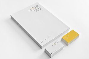 Simple & Clean Stationery